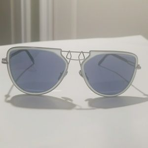 NWOT! Blue Calvin Klein Sunglasses
